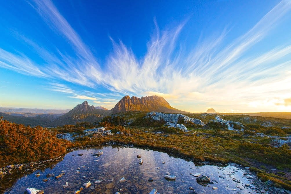 Cradle Mountain in Cradle Mountain-Lake St Clair National Park
